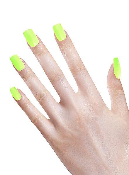 Ombre Fingernägel neongrün