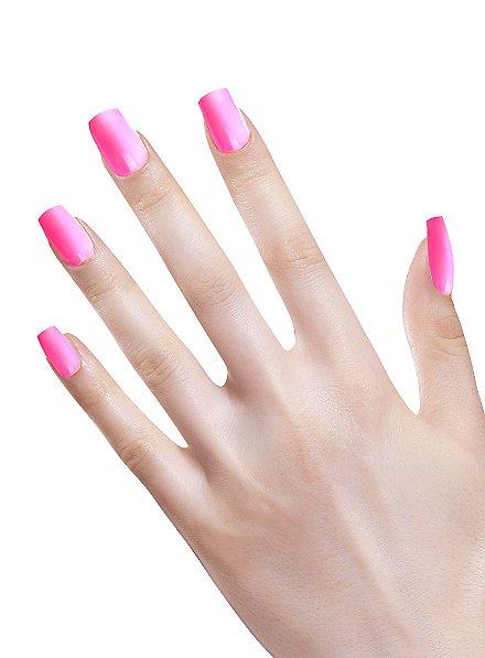Ombre Fingernägel neonpink