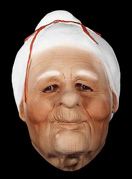 Omi Maske aus Schaumlatex