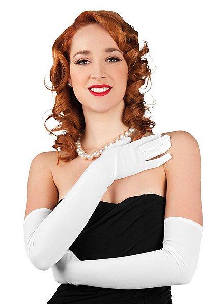 Opera Gloves white