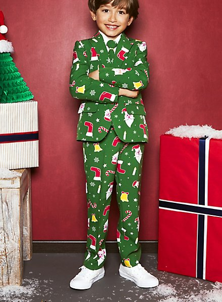 OppoSuits Boys Santaboss suit for children
