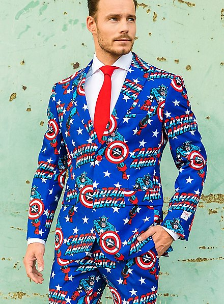 OppoSuits Marvel Captain America Suit