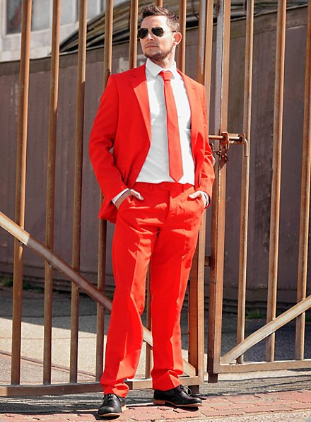 OppoSuits Red Devil Anzug