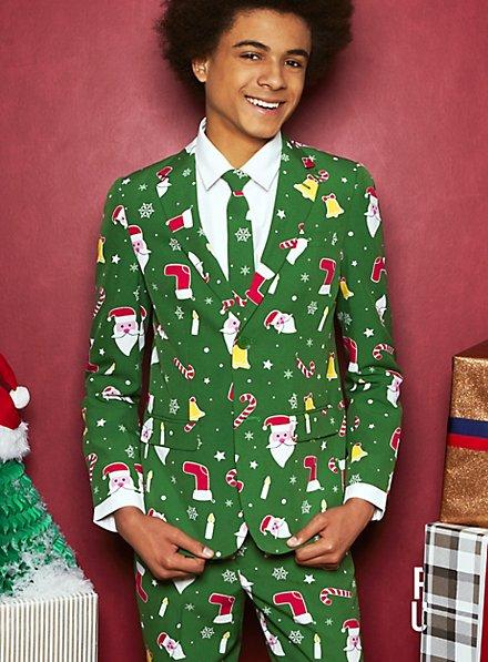 OppoSuits Teen Santaboss Suit for Teenagers