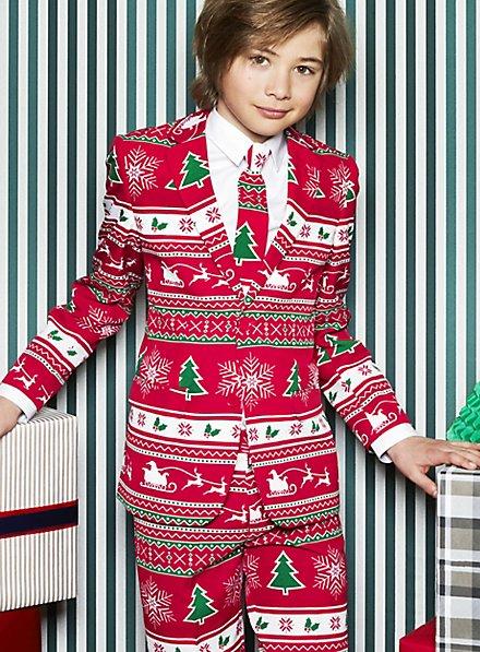 OppoSuits Teen Winter Wonderland Anzug für Jugendliche