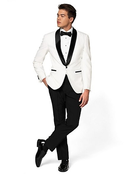 OppoSuits Tuxedo Pearly White Smoking
