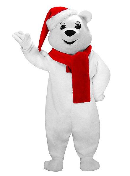 Ours de Noël Mascotte
