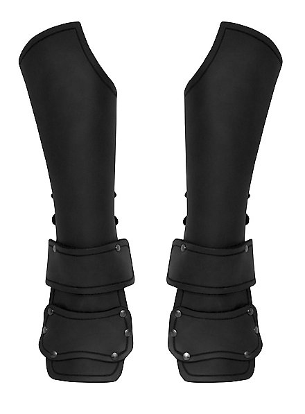 Outrider Vambraces with Hand Guard black