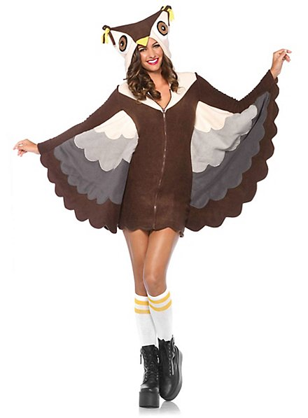 Owl Hoodie Dress