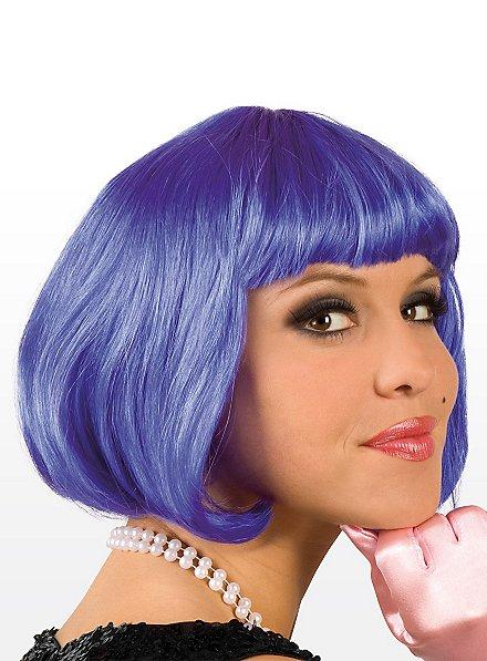 Pageboy blue Wig
