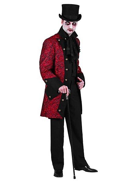 Paisley Men's Coat red
