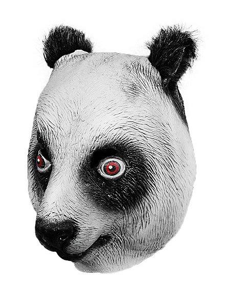 Panda Maske aus Latex
