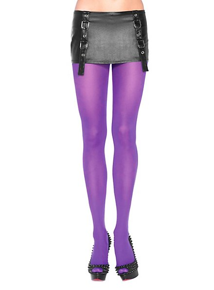 Pantyhose purple