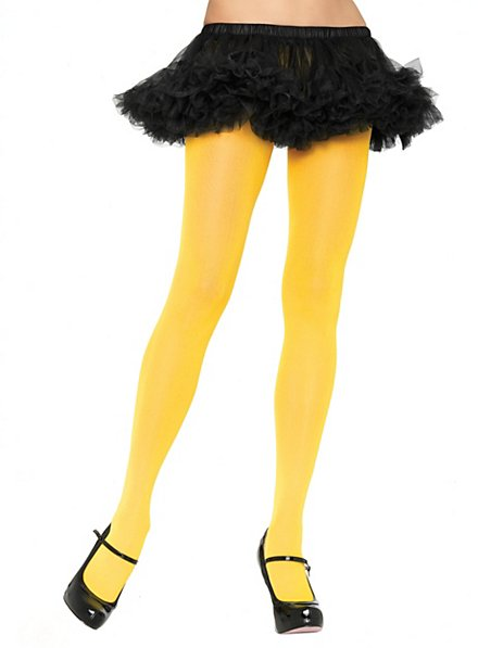 Pantyhose yellow
