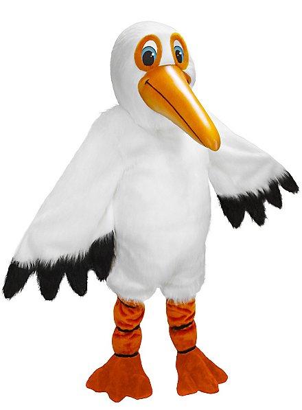 Pedro der Pelikan Maskottchen