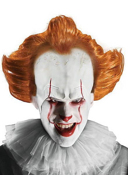 Pennywise 2017 wig with forehead attachment