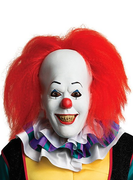 Pennywise Mask with Hair