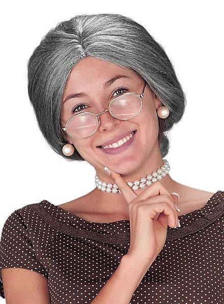 Perruque de grand-mère