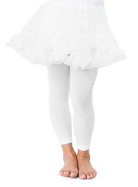 Petticoat für Kinder kurz weiß