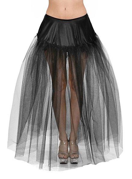 Petticoat schwarz lang