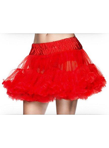 Petticoat Tüll rot