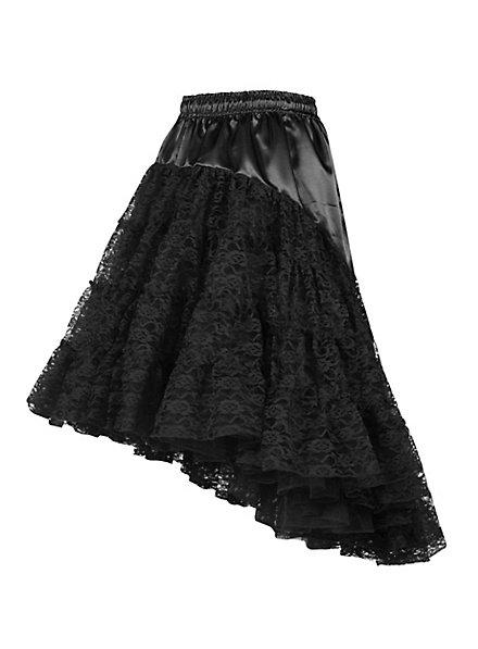 Petticoat with train black