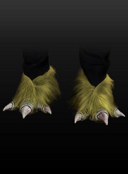 Pieds de monstre des marais