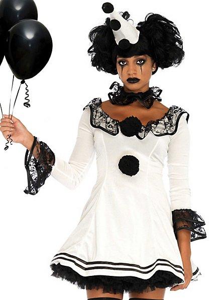 Pierrot frill dress costume