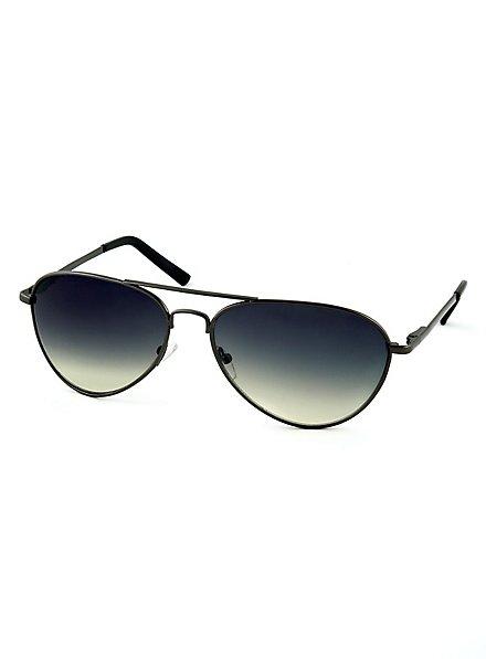 Pilotenbrille schwarz
