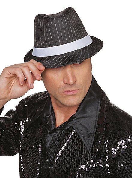 Pinstripe hat for men