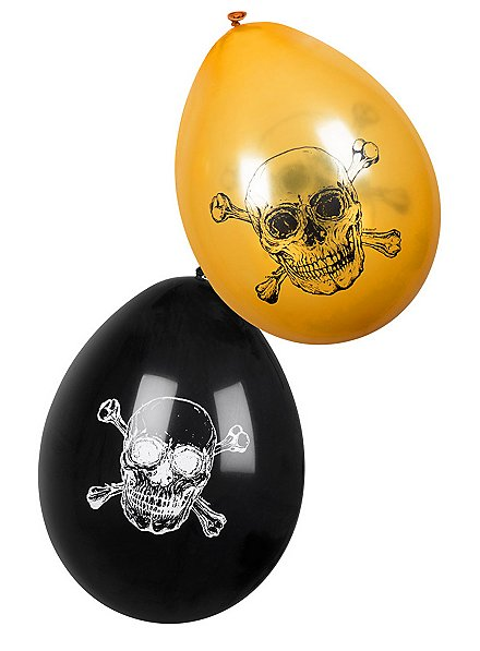 Pirate balloons 6 pieces