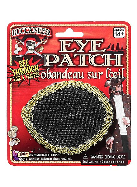 Pirate Eye patch transparent