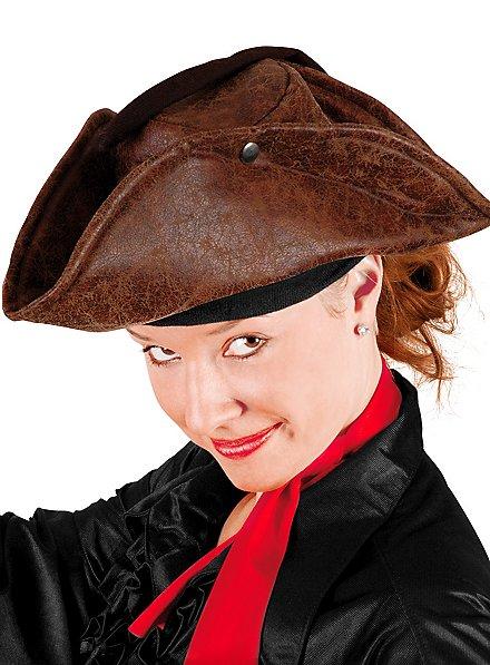 Piratenhut braun