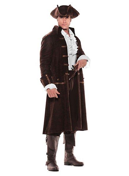 Piratenkapitän braun Kostüm