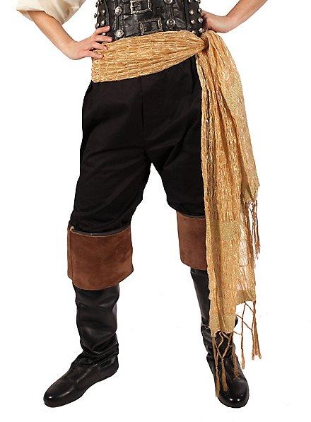 Piratentuch gold