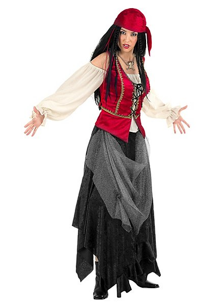 Piratin Kostüm