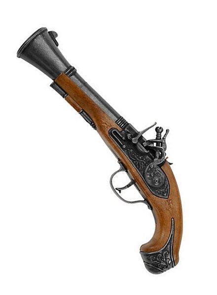 Pistolet de pirate Tronblon, 100 coups
