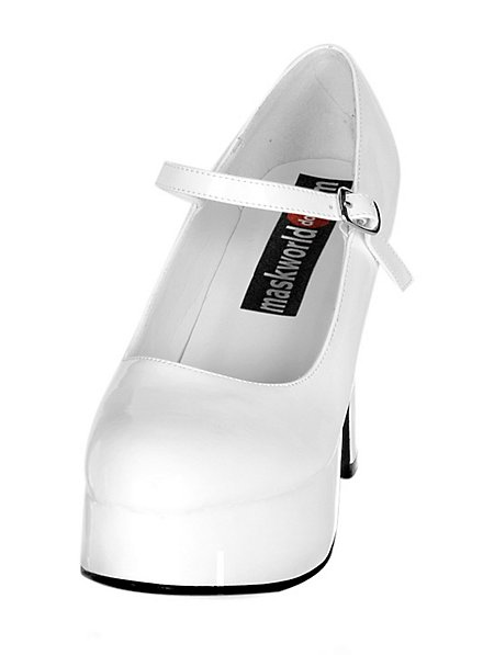 Platform Shoes white