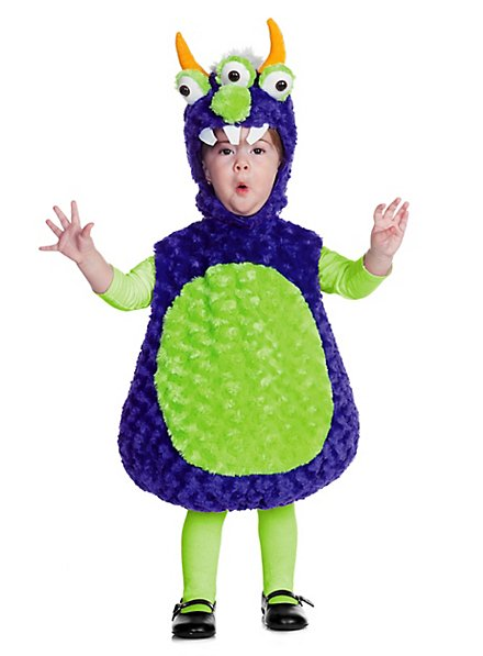 Plüsch-Monster Babykostüm