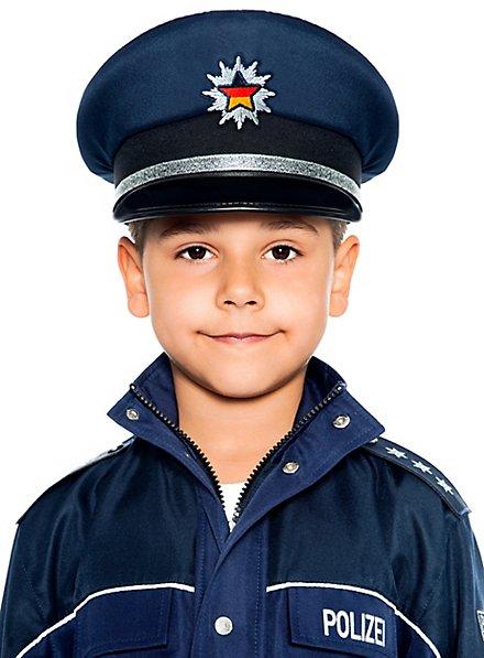 Police hat for children blue