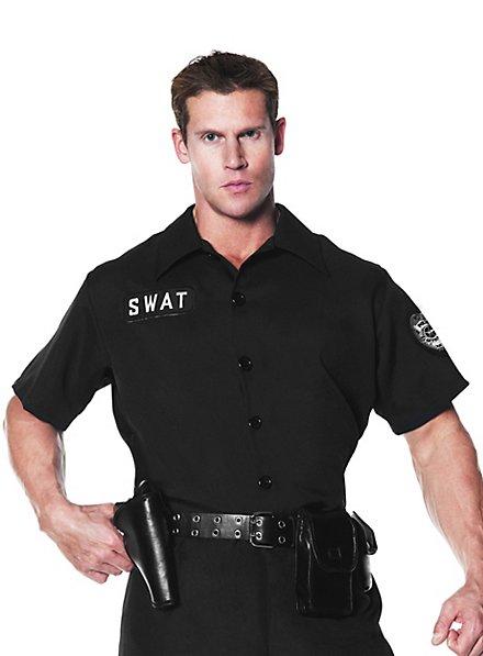 polizei hemd swat ★ für karneval und fasching ★ maskworld