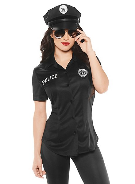 Polizistin Bluse