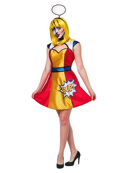 Pop Art Frau Kostüm