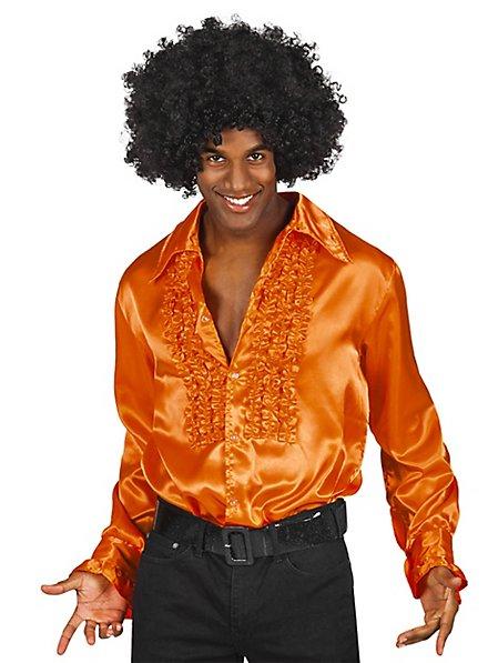 Pop Singer Shirt orange
