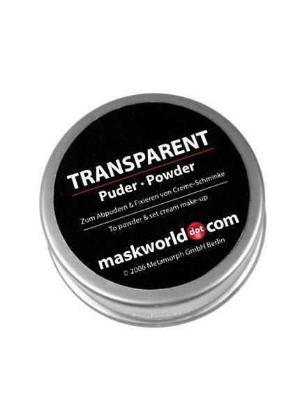 Poudre à maquillage transparent