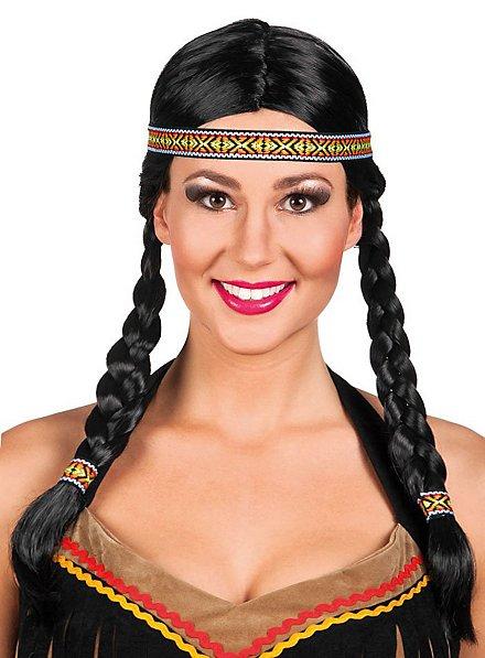 Prärie Indianerin Perücke