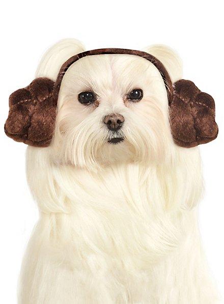 Princess Leia Headband for Dogs