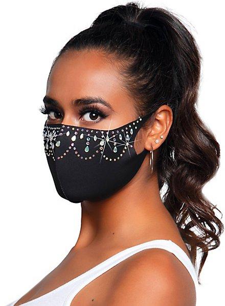 Priya Mundschutz Maske mit Strass