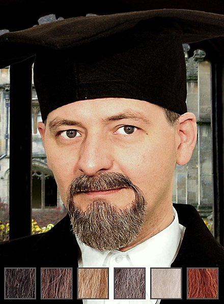 Professeur Composition de barbe professionnelle en poils véritables