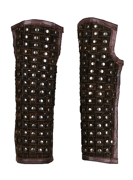 Protège jambes marron de brigand
